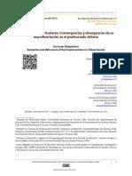 Adaptaciones Curriculares Convergencias y Divergencias de Su Implementación en El Profesorado Chileno