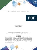 Paso 4 - Propuesta Inicial Determinar problemas en un entorno