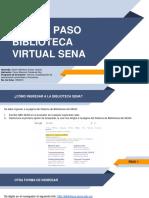 Paso a Paso Biblioteca Virtual SENA