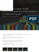 Lessons From Large-Scale Machine Learning Deployments on Spark