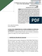 CASACIÓN 4863-2015 Fallo de fecha 14 de noviembre de 2016 por la Sala Civil Transitoria, demanda de nulidad de acto jurídico - aeródromo de Collique - Graña y Montero