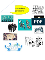 Mapa Mental Comportamiento Organizacional y Sus Funciones