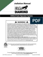 Gate Operator Manual