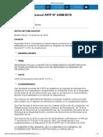 Rg 4398-19 Seguridad Social. Conceptos No Remunerativos Incluidos en La Retribución de Trabajadores en Relación de Dependencia