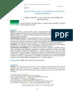 O Efeito da NF-e sobre a Arrecadação do ICMS dos Estados Brasileiros