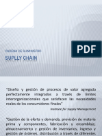 Suplly Chain y Logistica