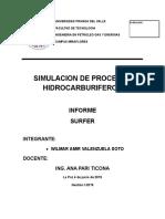 Simulacion de Procesos Hidrocarburiferos
