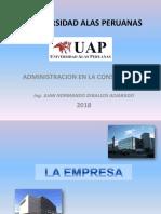 Unid i Empresa 2018 Uap