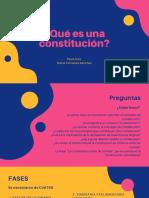 ¿Qué es una constitución_