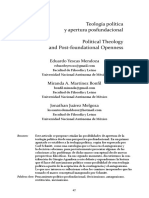 Yescas Mendoza, Eduardo, Miranda Martínez Bonfil, Jonathan Juárez Melgoza - Teología política y apertura posfundacional.pdf