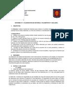 Informe 1. Calibración de instrumentos volumetricos y de medida