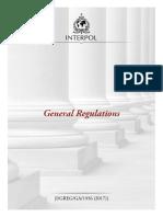General Regulations