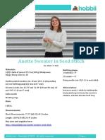 Anette Perlesweater Us (1)