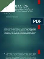 ARTICULACIÓN CURRICULAR ENTRE EDUCACIÓN DE PÁRVULOS Y EDUCACIÓN.ppt