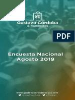 Informe Nacional Ago 2019