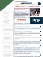 Affacturage - Pieges a Eviter Contrat Affacturage