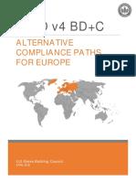 LEED v4 BD C Supplement for Europe 4-3-18 0
