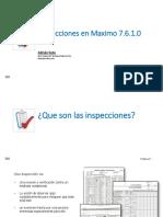Formulario de Inspecciones MAXIMO