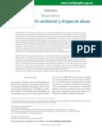 Enriquecimiento ambiental y drogas de abuso