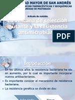 SELECCIÓN DE MUTANTE