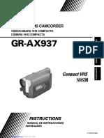 JVC GR-AX937UM