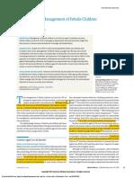 Evaluation and Management of Febrile Children 2016