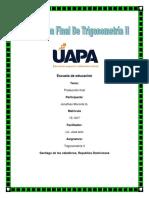 Producción Final de Trigonometría II - Jonathan Moronta 15-1917