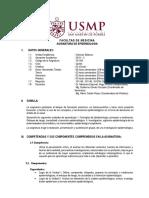 silabus de epidemiologia 2019