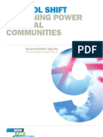 Returning Power Local Communities