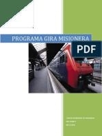 PROGRAMA Gira Misionera