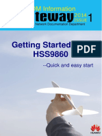 SDM Information Gateway_2014 Issue 1 (Getting Started With HSS9860 Documentation)