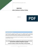 ISEB ISTQB Foundation Study Guide