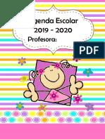 Agenda Escolar 2019-2020 Excelente