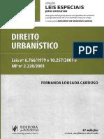 Direito Urbanístico Leis Especiais - 1 ( Pag