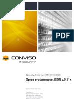 CVE-2010-3978 Spree E-commerce JSON Hijacking Vulnerabilities