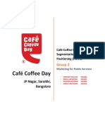 Cafe Coffee Day STP Group 2 PGPPM