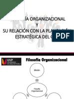 Semana III. Filosofía Organizacional .pptx
