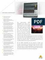 BEHRINGER_QX2442USB P0AL3_Product Information Document