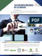 Sector biotecnológico en Colombia