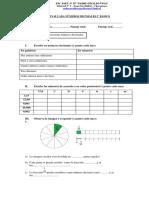 Guía Evaluada Números Decimales 5