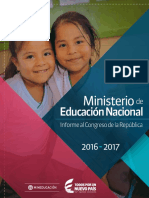 Cartilla ministerio de educación