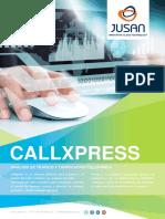 Folleto CallXpress Díptico