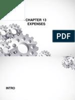 Tutorial A40 KIS Aktuaria\1 April\Chapter 13 EXPENSE_1