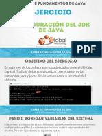 CFJ B Ejercicio 02 Configuracion Jdk