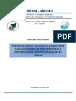 INFOM-UNEPAR Normas de dibujo topográfico e hidráulico para planos de acueductos.pdf