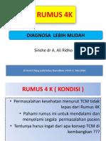 Rumus 4 k Diagnosa Lebih Mudah