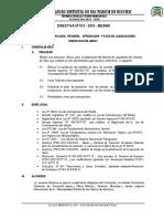 Directiva Nro. 013 2018 Mdsmr