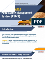 FSMS ISO 22000_2018 | Genveritas | ISO Services | Bangalore|Hyderabad|Chennai|Mumbai|India
