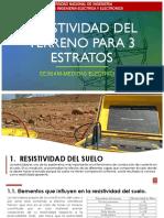 Resistividad Del Terreno Para 3 Estratos