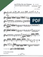 Violão 1 - quarteto de violões (telemann)